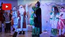 Новогодняя сказка для детей! Дед Мороз, Снегурочка и дополнительные персонажи