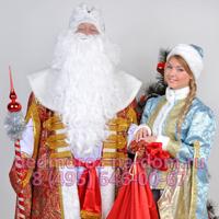 Дед Мороз и Снегурочка Илья и Ольга